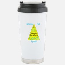 Bahamian Food Pyramid Travel Mug