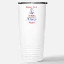 Korean Food Pyramid Travel Mug