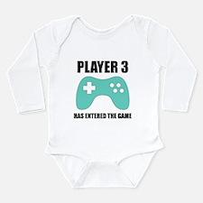 Unique Player Long Sleeve Infant Bodysuit