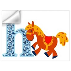 H for Horse Wall Decal