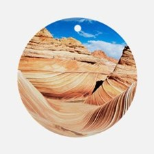 Desert Canyon Round Ornament