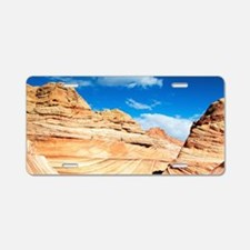 Desert Canyon Aluminum License Plate