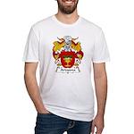 Artasona Family Crest Fitted T-Shirt