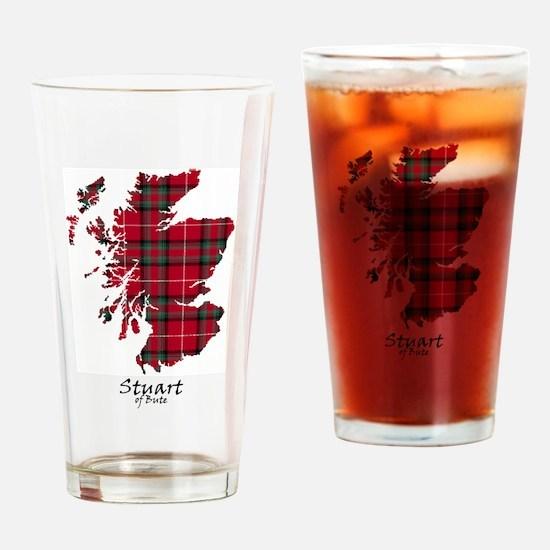 Map-StuartBute Drinking Glass