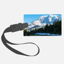 Mt. Rainier Luggage Tag