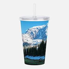 Mt. Rainier Acrylic Double-wall Tumbler
