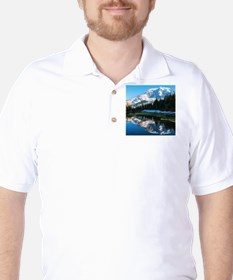 Mt. Rainier Golf Shirt