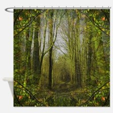 Forest Trail Shower Curtain