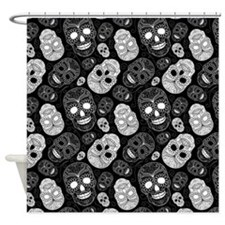 Unique Skeleton Shower Curtain