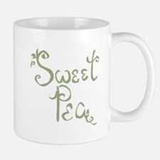 Sweet Pea Fun Quote Endearment Mugs