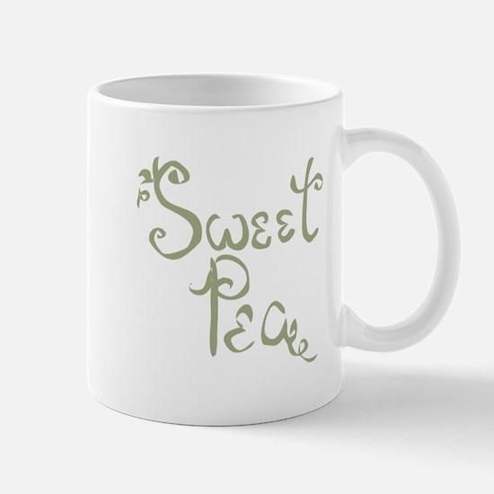 Sweet Pea Fun Quote Endearment Mugs