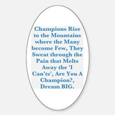 Champions Decal