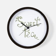 Sweet Pea Fun Quote Endearment Wall Clock