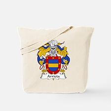 Arrieta Family Crest Tote Bag