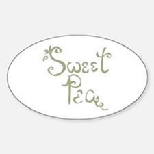Sweet Pea Fun Quote Endearment Decal