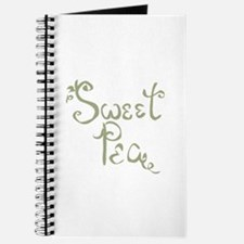 Sweet Pea Fun Quote Endearment Journal