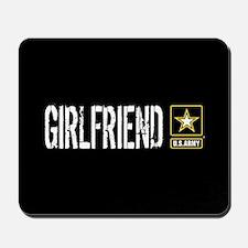 U.S. Army: Girlfriend (Black & Gold) Mousepad