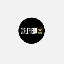 U.S. Army: Girlfriend (Black Mini Button (10 pack)