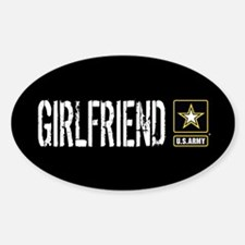 U.S. Army: Girlfriend (Black) Decal