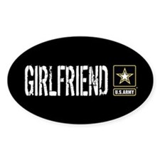 U.S. Army: Girlfriend (Black & Gold Decal