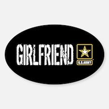 U.S. Army: Girlfriend (Black & Gold Decal