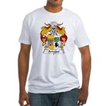 Arregui Family Crest Fitted T-Shirt