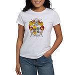 Arregui Family Crest Women's T-Shirt