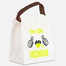 Funny Wolverine Canvas Lunch Bag