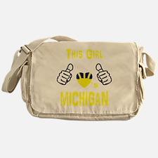 Cute Wolverines Messenger Bag