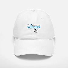 My Heart Belongs To A Soldier Baseball Baseball Cap