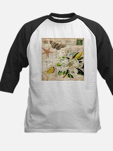 french botanical white lily Baseball Jersey