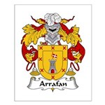 Arrafan Family Crest Small Poster
