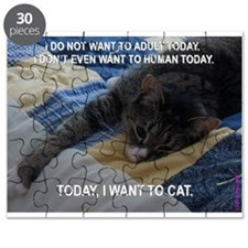 Today I want to cat Puzzle