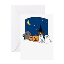 Beagle Happy Halloween Greeting Card
