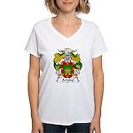 Arrabal Family Crest Women's V-Neck T-Shirt