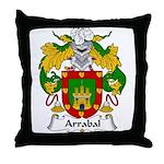 Arrabal Family Crest Throw Pillow