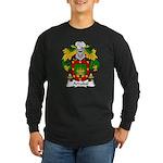 Arrabal Family Crest Long Sleeve Dark T-Shirt
