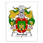 Arrabal Family Crest Small Poster