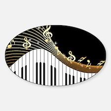 Ivory Keys Piano Music Decal