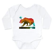California Republic Bear (fractal design) Body Sui
