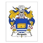 Arques Family Crest Small Poster