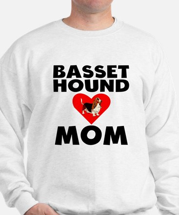 Basset Hound Mom Sweatshirt