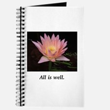 All Is Well Lotus Gifts Journal
