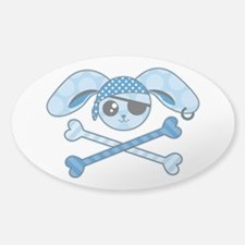 Pirate Bunny Decal