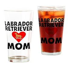 Labrador Retriever Mom Drinking Glass