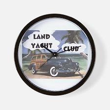 Yacht Club Wall Clock