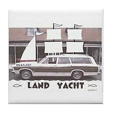 Yacht Club Tile Coaster