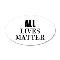 All Lives Matter Wall Decal