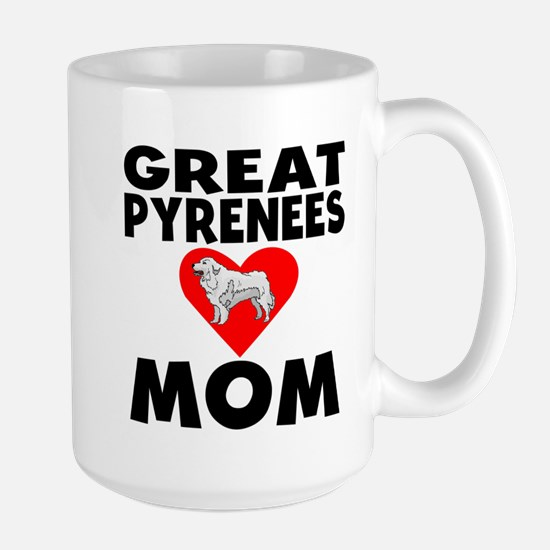 Great Pyrenees Mom Mugs