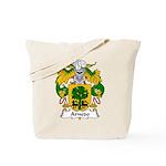 Arnedo Family Crest Tote Bag